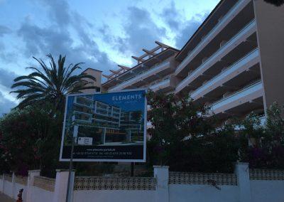 Refuerzo y ampliación de estructura en Hotel PORTAL PALACE (MALLORCA).