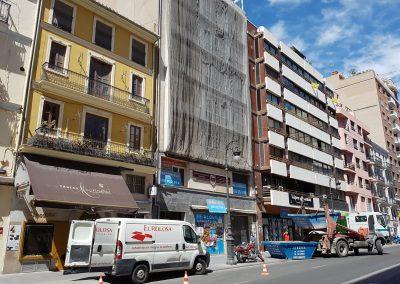 Refuerzo de forjado reticular en San Josep de sa Talaia (IBIZA).