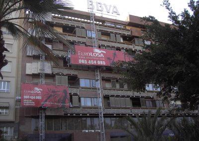 Rehabilitación de fachada en edificio de viviendas (ELCHE).