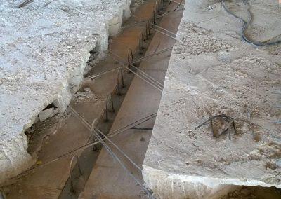 Reparación y refuerzo de estructura en Hotel NOBU playa Talamanca (IBIZA