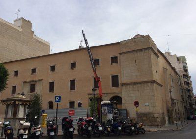 rehabilitación edificio histórico
