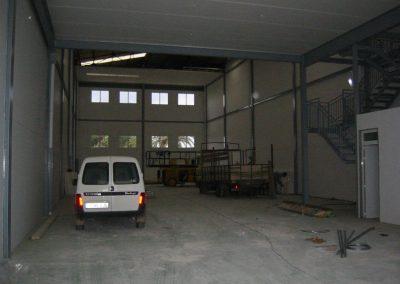 edificación nave industrial
