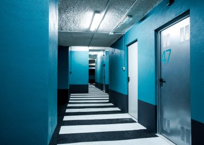 Rehabilitación de parking pisos azules Elche