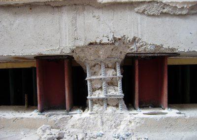 Actuaciones de emergencia en el apeo de edificaciones y agrupación de los refuerzos estructurales