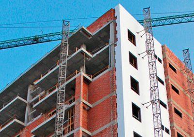 Construcción de 72 viviendas  (ELCHE).